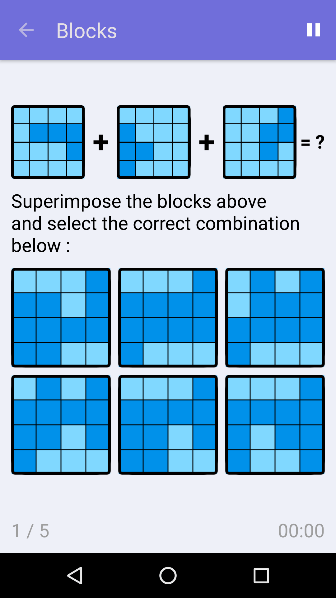 Blocks : Free Logic Game for iPhone & Android