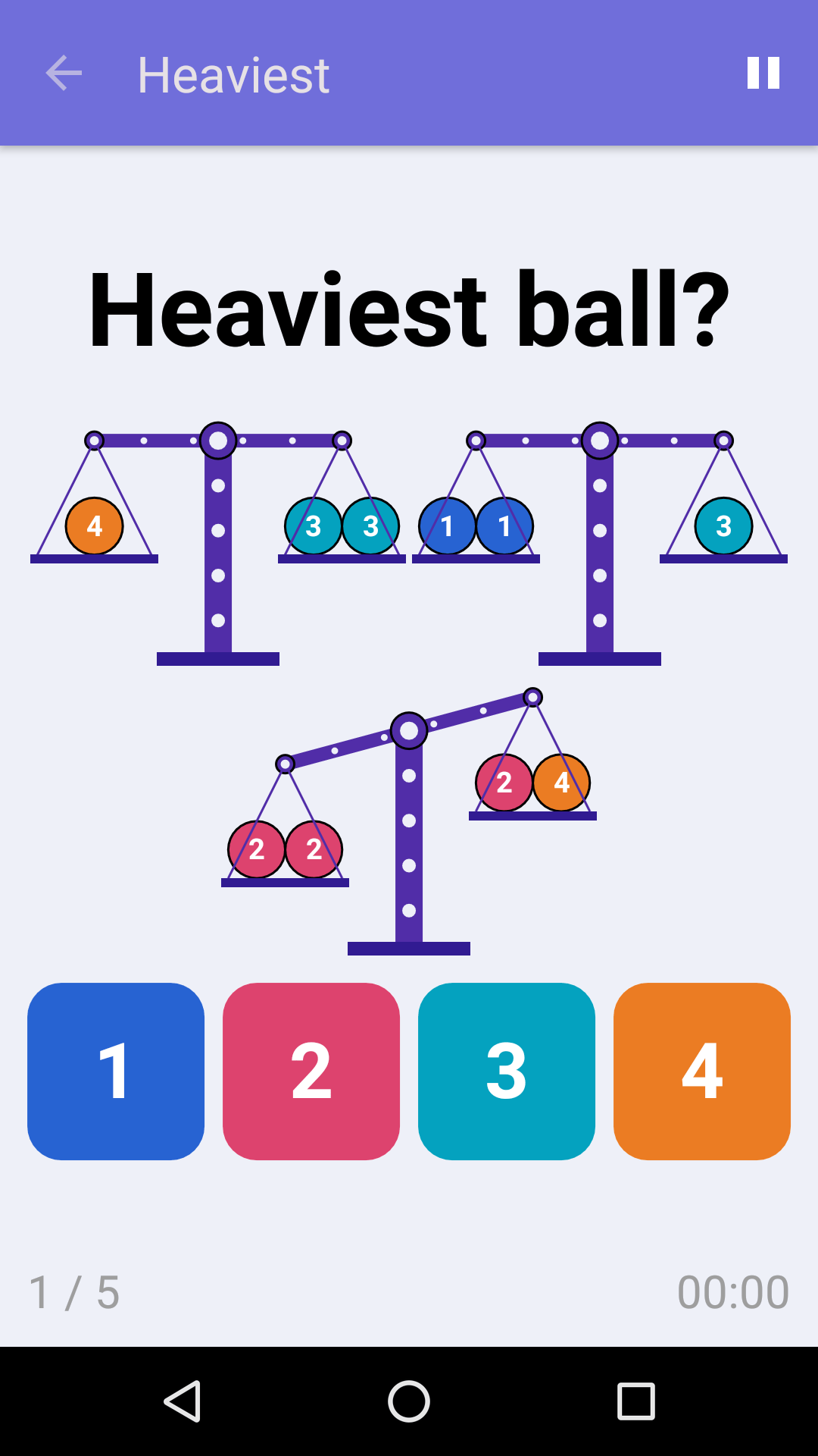 Heaviest : Free Logic Game for iPhone & Android
