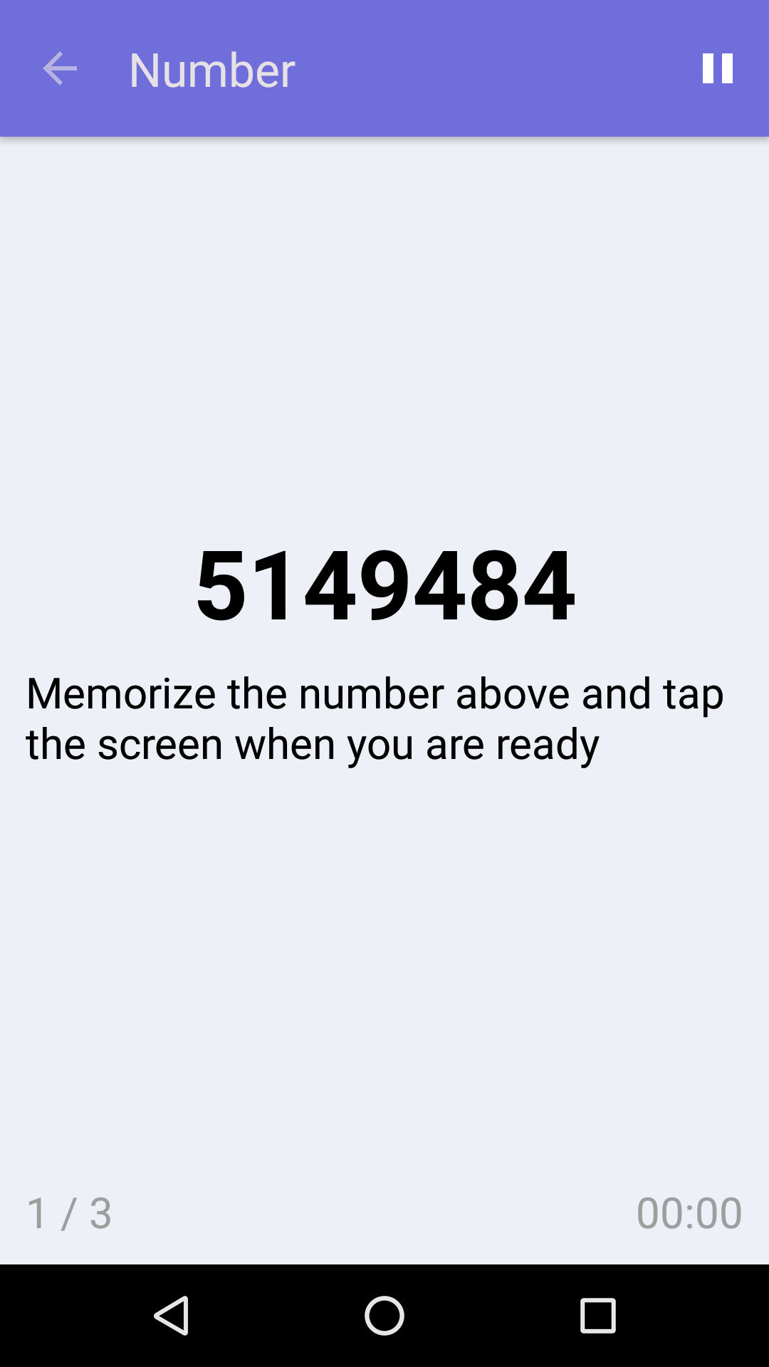 Number : Free Memory Game for iPhone & Android