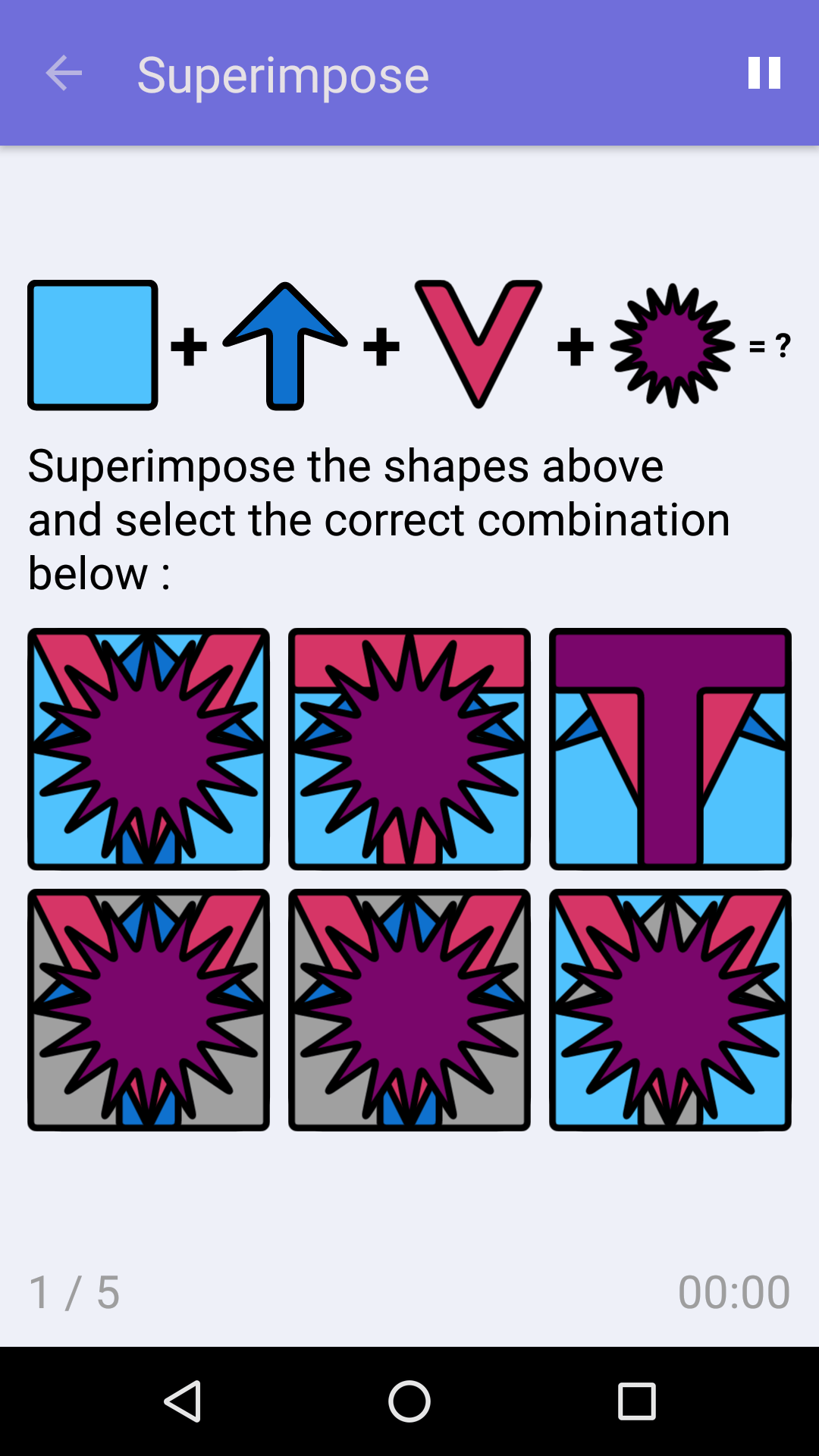 Superimpose : Free Logic Game for iPhone & Android